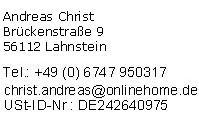 Impressum der Sitzlift Anbieter-Empfehlung Sitz-Lift.de